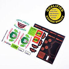 CUSTOM sticker for LEGO 7888 Tumbler Joker's Ice Cream Surprise, Premium quality