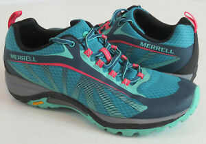 Merrell Hiking Shoes Womens Size 9.5 Siren Edge Hiking Blue Sneaker J35514