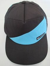 Quiksilver Black Blue Adjustable Trucker Baseball Surf Cap Hat Great Condition