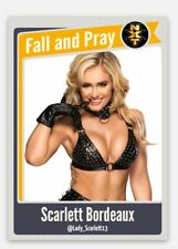Scarlett Bordeaux Wrestling Card Wwe Nxt
