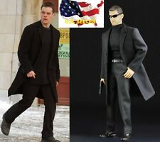 1/6 men overcoat agent suit The Bourne Supremacy Matt Damon hot toys ❶US seller❶