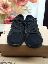 UGG K Irvin Black Suede Kids Shoes 1017207 Size US 3