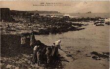 CPA   Presqu'ile de Quiberon - Ponte et Plage de Portivy- La rescoite   (431481)