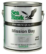Sea Hawk Mission Bay Aluminum Safe Bottom Paint, Quart