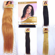 100% HUMAN HAIR - Made by DREAMGIRL, 10, 14, 16, 18 inch Weaves