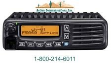 NEW ICOM IC-F6061-46, UHF 450-512 MHZ, 45 WATT, 512 CHANNEL MOBILE TWO WAY RADIO