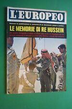 De L'Européen 1962 Re Hussein Jordanie Jayne Mansfield Jerry Wald Stirling Moss