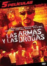 Las Armas y las Drogas: 5 Peliculas (DVD, 2010, 2-Disc Set) * NEW *