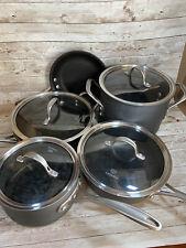Calphalon Cookware Premier Set 9 Piece Hard-Anodized Stainless Steel Non-Stick