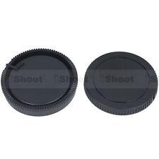 Camera body cover ✚ rear lens cap for Sony a33 a55 Konica Minolta a5 a7 a5D a7d