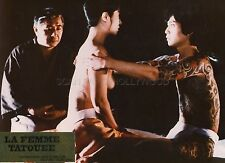 SEXY HARUE KYO IREZUMI SPIRIT OF TATOO 1982 VINTAGE PHOTO ORIGINAL #2 TATOOING