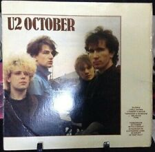 U2 October Album Released 1981 Vinyl/Record  Collection US pressed