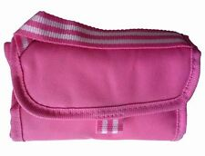 Tesco Folding Beach Picnic Food Drink Lunch Cooler Bag - Fuchsia Pink