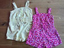 2 X Baby Girls Playsu it's - Age 6-12 Mths