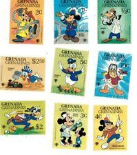 Grenadines 1979 350-8 - Disney Characters - Set of nine - MNH