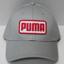 Puma DryCell Greenskeeper II Golf Hat Cap Grey with Red NEW!