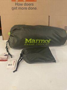 Marmot Crane Creek UL 3P 3-Person Ultra Lightweight Backpacking Tent + Footprint