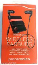 Plantronics BackBeat Go 2 Wireless Earbuds Bluetooth Charging Case Black Retail