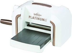 Spellbinders Platinum 6  A5 Die Cutting Machine with metal gears #SBPE-100