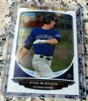 RYAN MCMAHON 2013 Bowman CHROME Draft Picks Rookie Card RC Rockies HR Power HOT