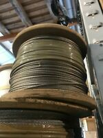 200m of 7x7 5mm Strand Wire Rope in A4-AISI 316 Marine Grade Stainless Steel
