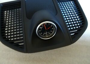 PORSCHE 2014 2019 MACAN TURBO S GT S DASH CLOCK WITH COVER & WIRE PLUG