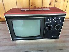vtg. 1960's B & W Penncrest Portable TV television *WORKS*