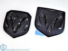 Dodge Ram Carbon Fiber 1500 2500 Emblem Set 13-17 Front Rear Badges Genuine OEM