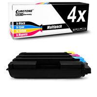 4x Eurotone Toner ersetzt Kyocera TK5140C TK5140K TK5140M TK5140Y TK5140 TK 5140