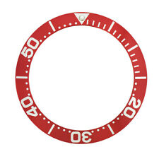 BEZEL INSERT FOR INVICTA 0420 PRO DIVER GRAND COLLECTION AUTOMATIC RED