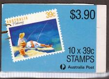AUSTRALIA, 1989  FISHING, BOOKLET, SG SB 64,  MNH COMPLETE