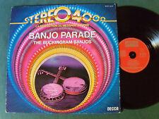 BUCKINGHAM BANJOS : Banjo Parade STEREO 4000 - LP 1966 French BARCLAY reissue