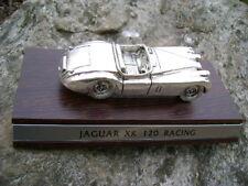 MODELLINO JAGUAR XK 120 RACING  (1948 )SILVER PLATE