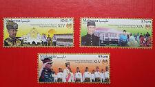 2016 Malaysia Pemerintahan Seri Paduka Yang di-Pertuan Agong XIV - Stamp Set
