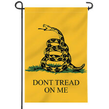Anley Dont Tread On Me Garden Flag Decorative Flags Double Sided 18 x12.5 Inch