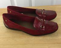 Karen Scott Jasmine Red Slip On Shoes Size 8.5 M Us Women's