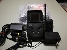 Nec Pc Engine GT Grafx System Tested Working AC adapter DC car adapter TV Tuner