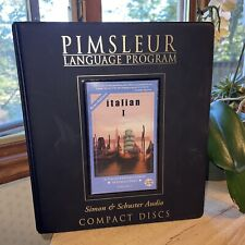 Pimsleur Italian Level 1 CD: Learn to Speak and Understand Italian -Euro Edition