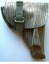 - RARE - Genuine East German Strichtarn Camouflage MAKAROV Holster DDR Stasi NVA