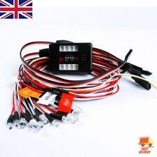 Brake + Headlight + Signal Led Light Kit  For 1/10 RC Car truck 2.4ghz PPM FM