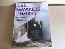 113H Les Grands Trains Larousse 238 Pages C Lamming