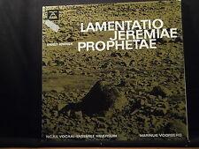 Ernst Krenek-lamentatio Jeremiae Prophetae/Voorberg 2 LP