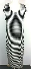Dorothy Perkins Striped Maxi Dress Black & White UK Size18 EUR46 (New Tags)
