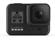 Cámara deportiva - GoPro HERO8 Black, Vídeo 4K60, 12 MP HDR, Slo-Mo 8x,