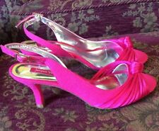Gorgeous Bright Pink Jacques Vert Shoes UK 5 / 38 BNWB - wedding Hat MOB Sandals