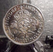 CIRCULATED 1948 2 SHILLING UK COIN (73016)