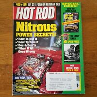 Back Issue Hot Rod Magazine February 1998 Nitrous Power Secrets Hot Rod Tech