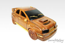 NEW SUBARU WRX CAR WOODEN TOY MODEL CHIRSTMAS GIFT DECORATION