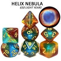 Helix Nebula Concept Dice Set