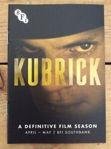 Stanley Kubrick mini promotional booklet new